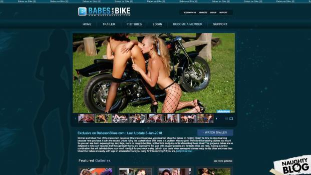 BabesOnBike.com – SITERIP