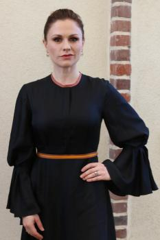 Anna Paquin at the HFPA Offices in 2