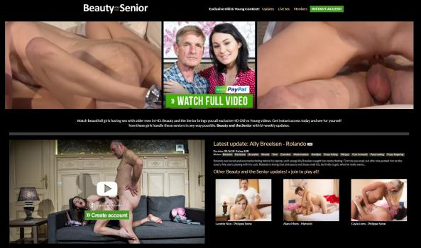 BeautyAndTheSenior - SiteRip (Updated Jan 2018)