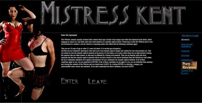 MistressKent - SiteRip